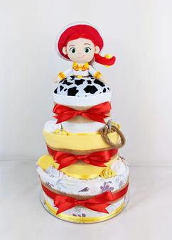 Country Theme Jesse Nappy Cake