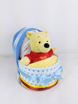 Baby Boy Pooh Bear Nappy Crib