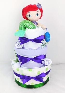Ariel-Nappy-Cake-Newborn-Baby-Hamper-Gif