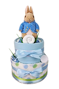 Baby Boy Peter Rabbit Nappy Cake - Nappy Cake Brisbane