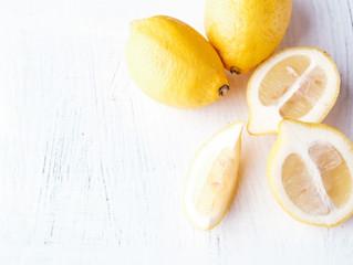 レモン白湯で夏も元気に!