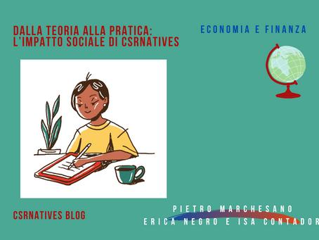 Dalla teoria alla pratica: l'impatto sociale di CSRnatives