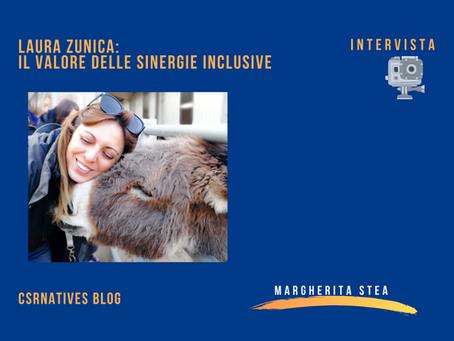 Laura Zunica: il valore delle sinergie inclusive