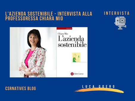 L'azienda sostenibile - Intervista alla professoressa Chiara Mio