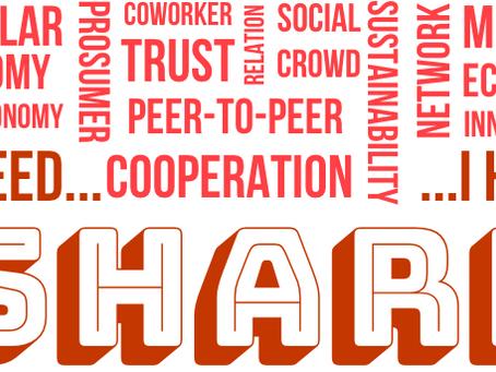 Sharing Economy: la condivisione che aiuta l'Economia Circolare