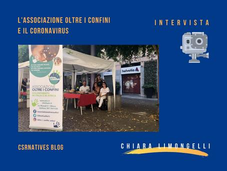 L'Associazione oltre i confini e il Coronavirus