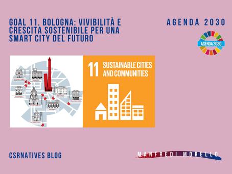 GOAL 11. Bologna: vivibilità e crescita sostenibile per una smart city del futuro