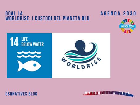 GOAL 14. Worldrise: i custodi del pianeta blu