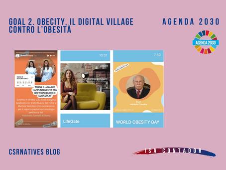 GOAL 2: Obecity, il digital village contro l'obesità