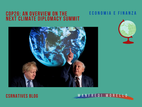 COP26: an overview on the next climate diplomacy summit
