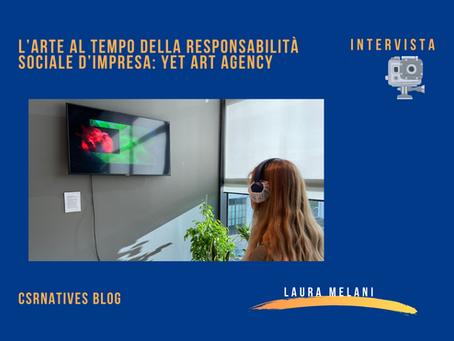L'arte al tempo della responsabilità sociale d'impresa: YET art agency