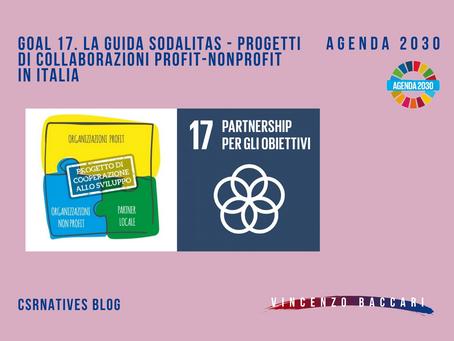 GOAL 17. La guida Sodalitas - progetti di collaborazioni profit-nonprofit in Italia