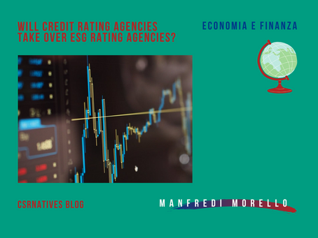 Will Credit Rating Agencies take over ESG Rating Agencies?