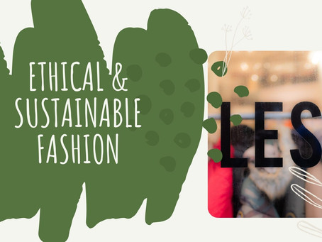 A great opportunity for Sustainable and Ethical Brands