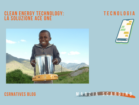 Clean energy technology: la soluzione ACE One