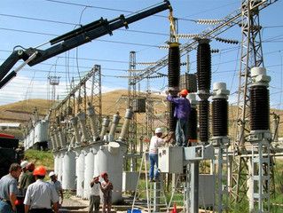 Reconstruction of the Ravshan Electricity Substation