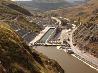 Paravani HPP Which is The First Energy Project realized by Turkish Companies in Georgia, Has Opened