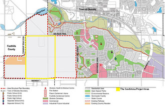 Residential Map of The Sandstone Project