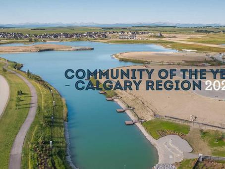 Community of Harmony wins BILD Calgary's 2020 Community of the Year - Calgary Region award
