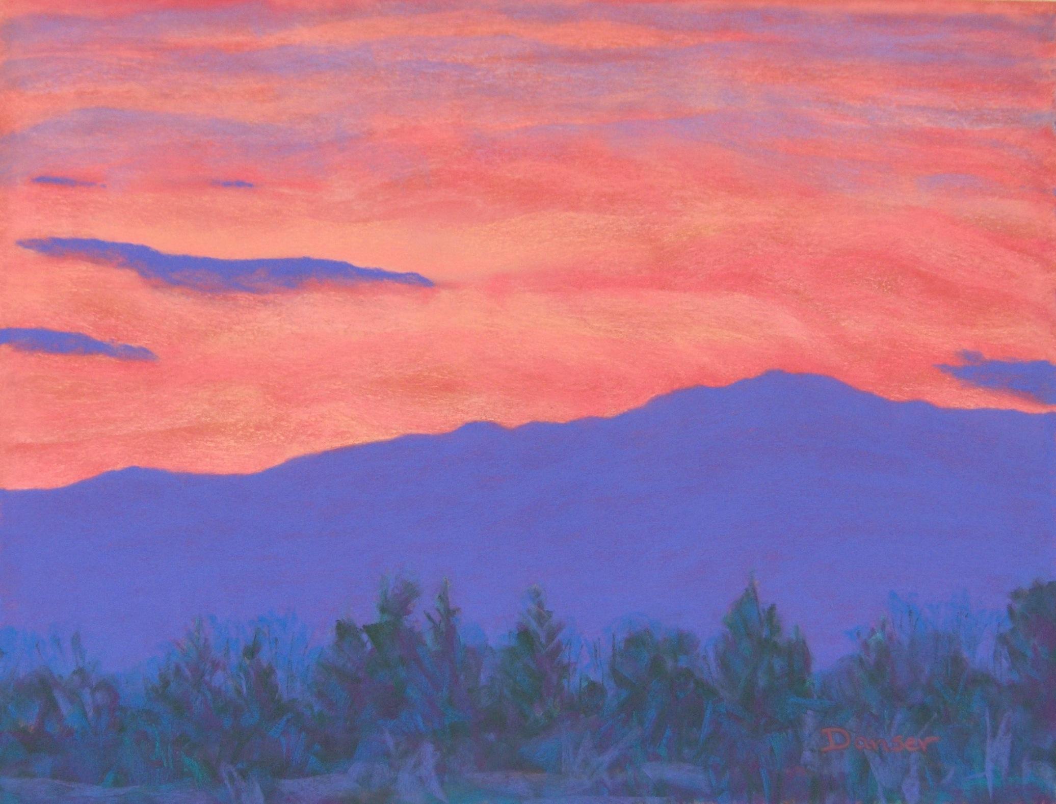 Monadnock Sunset IV
