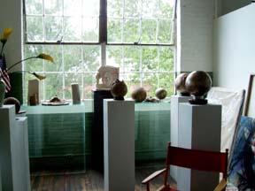 Barbara's studio - a