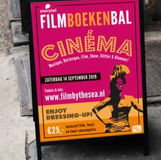 Poster FilmBoekenbal (Film by the Sea)