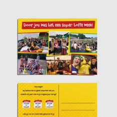 Postkaart Kinderkamp Borsele