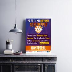 Poster Klomppop