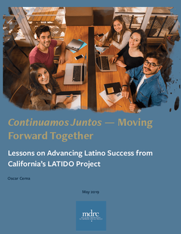 Lessons on Advancing Latino College Success