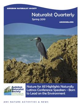"""""""Naturalist Quarterly"""" Profiles Crimsonbridge Executive Director"""