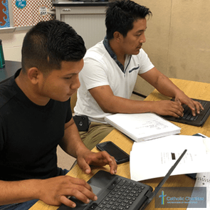 Online ESOL Instruction Expands Reach of Spanish Catholic Center and Attracts New Students