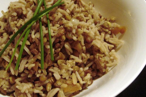 Middle Eastern Rice & Lentils
