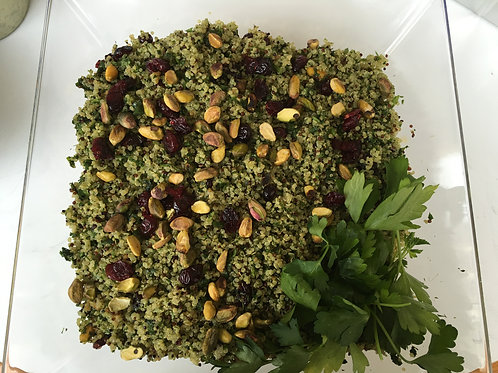Green Herb Quinoa Salad