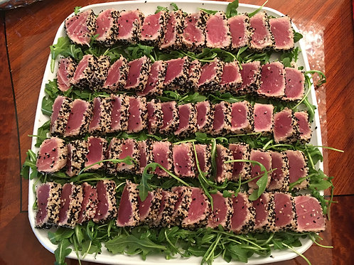 Sesame Crusted Ahi Tuna  Serves 2 pp