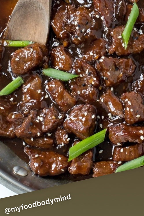 Asian Beef Special ( serves 4 pp)