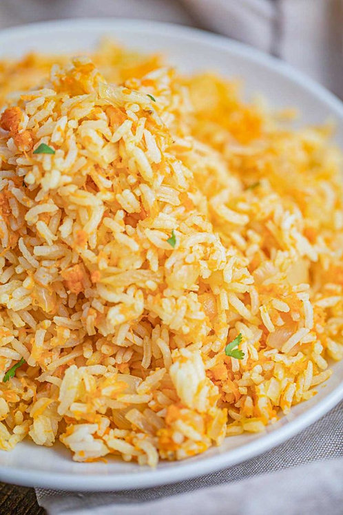 Carrot Rice Pilaf