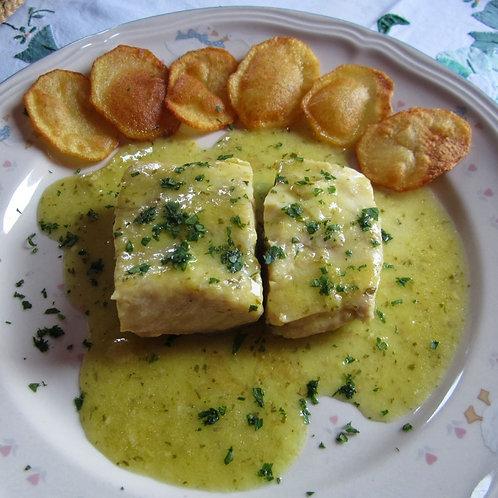 White Fish in Salsa Verde ( serves 2- 3pp)
