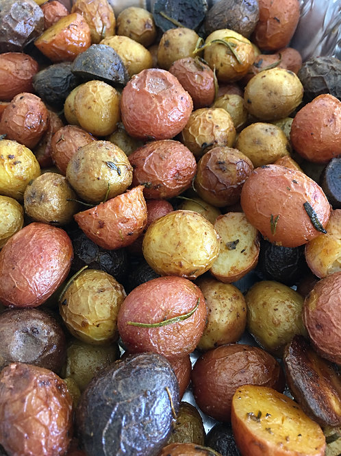 Roasted Tricolor Potatoes