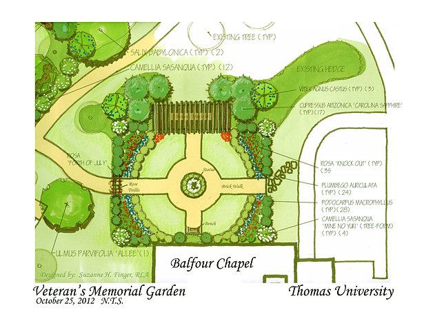 Veteranu0027s Memorial Garden NTSsm