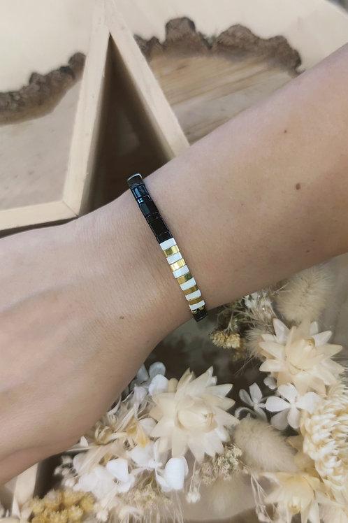 Bracelet pierre élastique