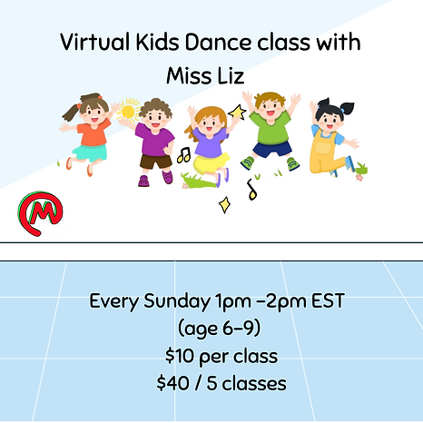 School's Out Virtual Hip Hop with Miss L