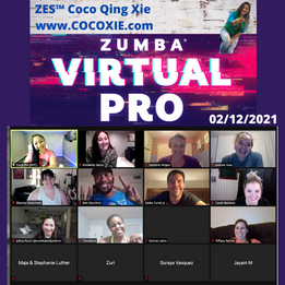 Zumba Virtual Pro 2/12/21