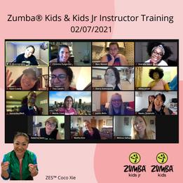 Zumba® Kids & Kids Jr Instructor Trainin