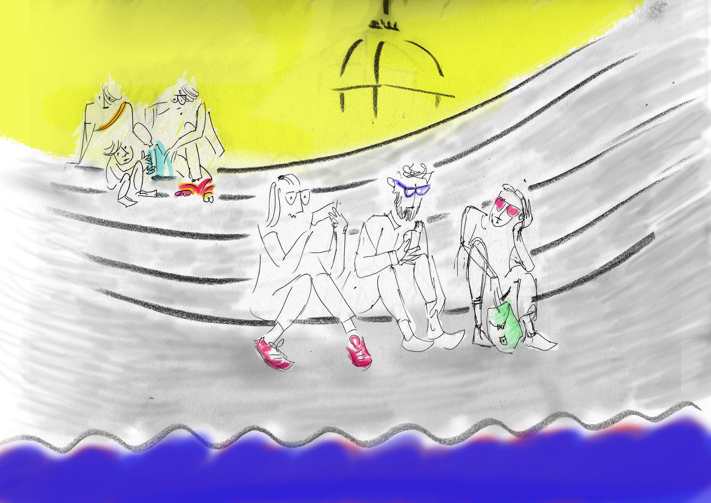 ilaria aprile roma a scale ISOLA TIBERINA 1