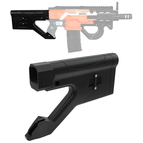 XSW 3D Print Hera CQR P90 Rifle Buttstock for Nerf Stryfe