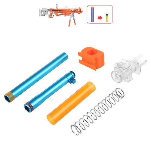 Worker MOD Short Dart Stefan Metal Breech Kit for Nerf RatporStrike Modify Toy