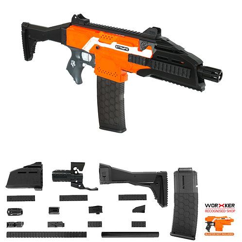 Worker MOD F10555 Scorpion EVO3 Imitation Kit for Nerf Stryfe