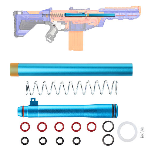 Worker MOD Short Dart Metal Bolt Breech Kit for Nerf Delta Trooper