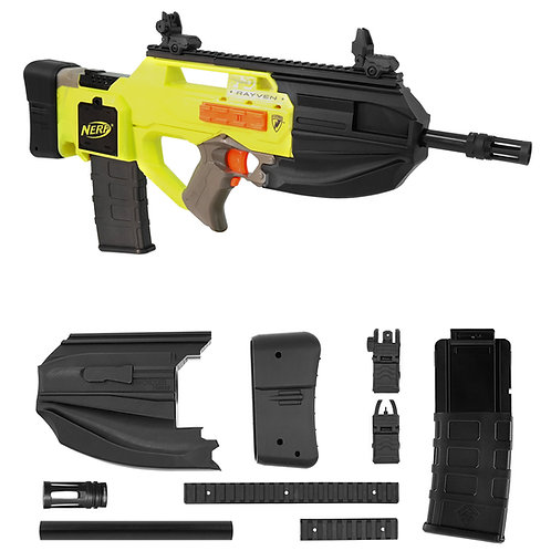 Worker F10555 FN F2000 Rifle Imitation Kit 3D Print for Nerf Rayven