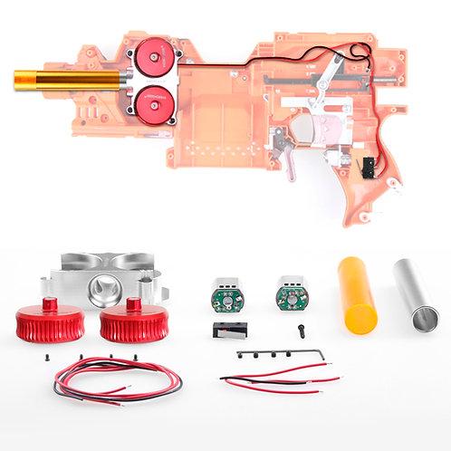 Worker MOD Motor Metal High Flywheel Cage Motor Kit for Nerf Stryfe RapidStrike